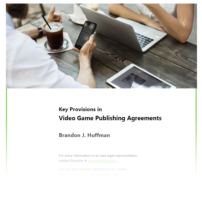 Video Game Lawyer Business Ip Publishing Licensing Odin Law