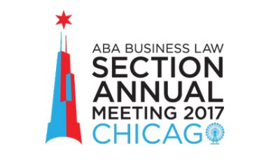 Brandon J. Huffman to speak at ABA Business Law Annual Meeting